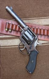 Antique Frontier Army Revolver with original Antique holster - 2 of 12