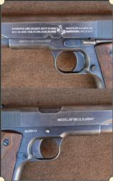 Colt 1911 not A1 .45acp MFG 1918 - 11 of 12