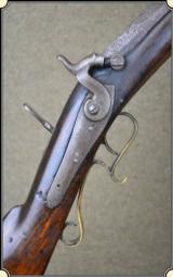 Original .38 cal Plains rifle. maker Spies
