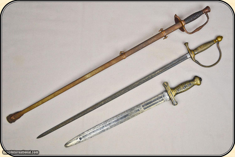3 Original Civil War swords for a bargain price
