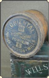Oriental Western Sporting Co. Powder Keg