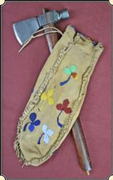 Santee Sioux 3 sided tobacco pipe bag