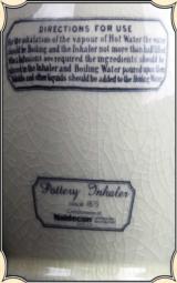 Replica Maw's Double Valve Earthenware Inhaler - 5 of 5