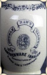 Replica Maw's Double Valve Earthenware Inhaler - 4 of 5