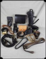 Miscellaneous Military Leather Goods
