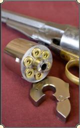 Nickel Plated Kirst Cartridge Konverter for 58 Remington. (.38spec)