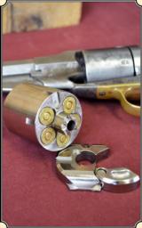 Nickel Plated Kirst Cartridge Konverter for 58 Remington. (.45ACP)