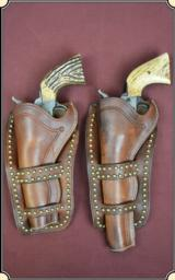 Cheyenne Holster with antiqued brass spots