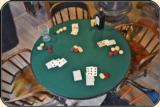 Old West Gambler's Poker Table