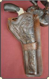 Holster for 6- 6 1/2 inch barrel by C. M. Cain, of Tyler, Tx