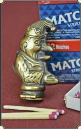 Mr. Punch Figural match safe or Match Vesta