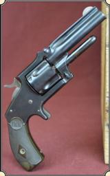 Reblued Marlin .38 Revolver