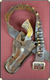 Vintage Holster with belt. Antique