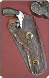 Vintage Antique saddle shop Holster For a S&W Double Action Frontier or New Model 3 S&W