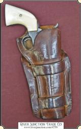 Classic Herman H. Heiser holster for a 4 3/4 or 5 1/2 inch Colt SAA