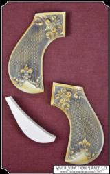 Cimarron Lightning Grips - Ivory Antique color - 1 of 4