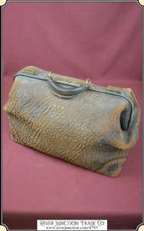 Bag - Vintage Big Leather Satchel or Luggage