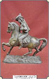 Buffalo Bill Statue, Souvenir of his Wild West Show.