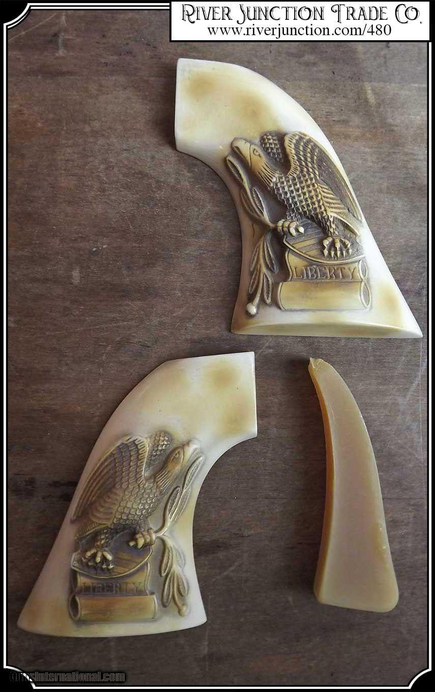 Grips ~ 1851 and 61 Navy colt - Hickock Eagle grip For Colt