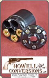 Pietta Howell 1860 Colt Cartridge Converter - .45 - Blued