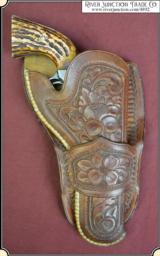 Hand tooled Vintage Montana Holster