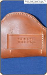 Holster Copied after Clark Saddlery holster - 6 of 6