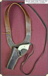 Shoulder holster for 1849, or pocket Navy Colt, revolvers with 4 inch barrel