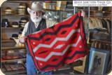 Teec Nos Pos Navajo saddle blanket - 2 of 15