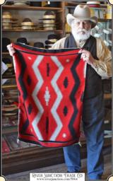 Teec Nos Pos Navajo saddle blanket