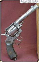Antique Frontier Defender Revolver with spur trigger guard.
