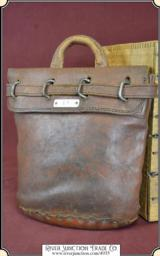 Antique Express & Postal Service Registered pouch with original lock.