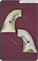 Stag horn grips