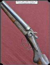 Jannsen Sons & Co. Model 1889 SxS Hammer shotgun 10 gauge