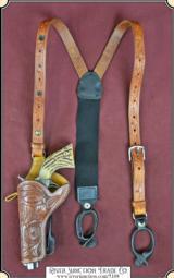 Sheriffs Model SA suspender holster left hand draw