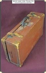 Vintage Big Leather Suitcase or LuggageRJT#5146 -$199.95