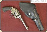 Vintage Brauer Bros Black Leather Duty Holster W Flap - 3 of 8