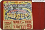 Carson and Barnes Circus poster. 31 x 30.25 inches - 2 of 2