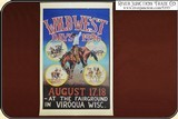 "Viroqua Wild West Show 1996 Print 11"" x 16 3/4"" - 2 of 2"