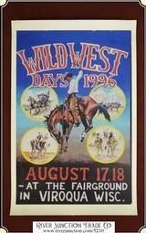 "Viroqua Wild West Show 1996 Print 11"" x 16 3/4"""