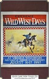 Viroqua Wild West Show 1997 Print 21 x 24