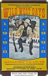 Viroqua Wild West Show 1998 Print 16 x 24