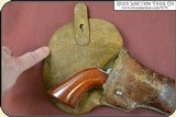Rare Confederate Holster With a Lead Finial. - 8 of 15