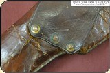 Rare Confederate Holster With a Lead Finial. - 6 of 15