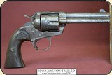 """Dead man's gun, Colt Bisley .38-40 cal., 4-3/4"""" barrel - 2 of 20"""