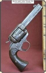 """Dead man's gun, Colt Bisley .38-40 cal., 4-3/4"""" barrel"""