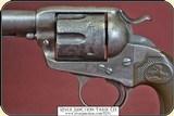 """Dead man's gun, Colt Bisley .38-40 cal., 4-3/4"""" barrel - 5 of 20"""