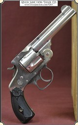 "Smith & Wesson .38 4th issue, top break with 4"" barrel"