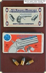 .41 caliber Rim-fire ammo by Navy Arms 1 box of 50 rounds