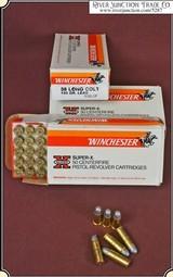 Winchester Super X 38 Long Colt 50 Rd. box
