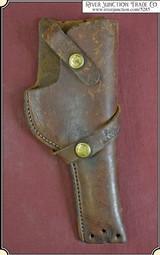 Vintage Brauer Bros Brown Leather Holster